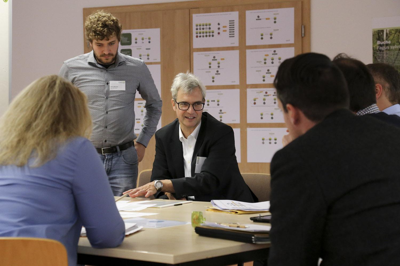 Workshop beim IAK-Treffen